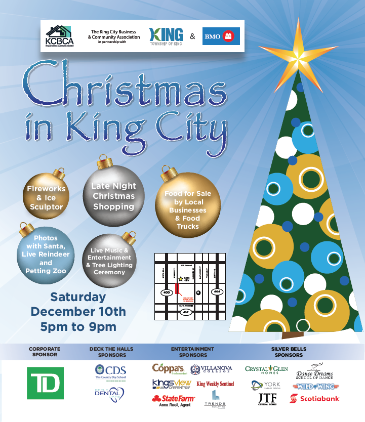 2016 Christmas In King Is Happening On Dec 10th King City